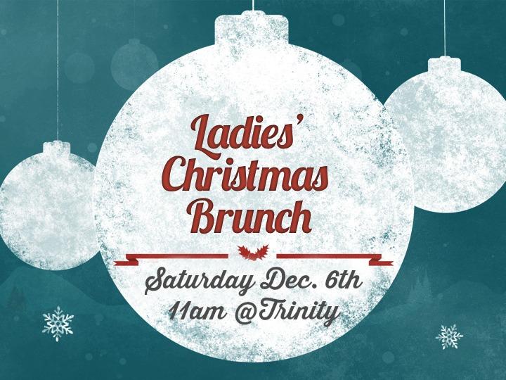 Ladies Christmas Brunch - ALL AGES Welcome!